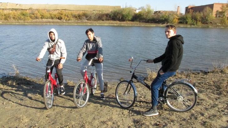 В Астраханской области состоялся молодёжный велопоход