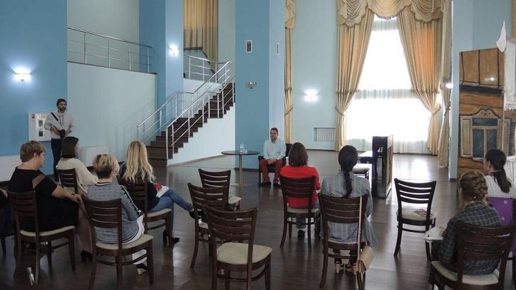 В Астрахани прошла встреча с известным пианистом