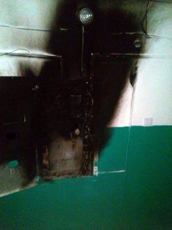 15 человек оказались заложниками огня в Астраханской области
