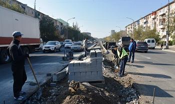 Виктор Корженко поручил максимально ускорить ход работ по ул. Яблочкова