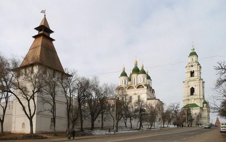 В Астрахань постепенно возвращается тёплая зима