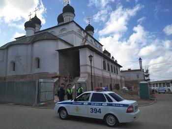 На территории Астраханского кремля найдены боеприпасы