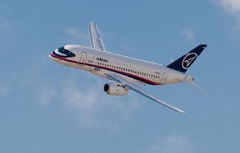 Sukhoi Superjet 100 не полетел в Астрахань