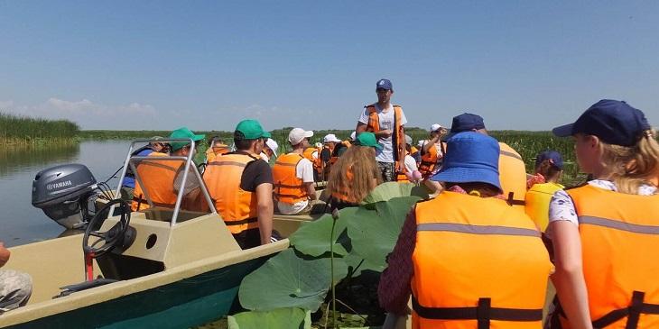 В Астраханском заповеднике прошли экологические экспедиции для детей