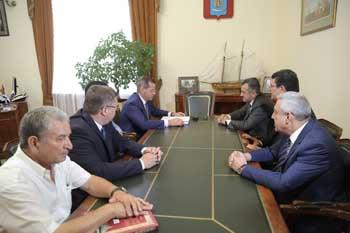 Александр Жилкин: Наши отношения с Азербайджаном находятся на высочайшем уровне