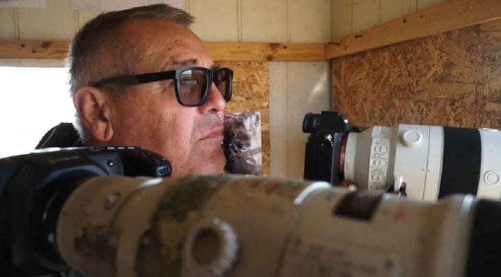 Известный фотохудожник представил новое видео из астраханского заповедника