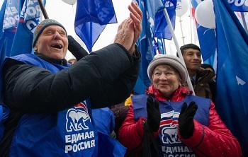 «Единая Россия» порвала конкурентов на допвыборах в Астраханский сельсовет
