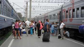 По «Единому билету». Из Астрахани в Крым на поезде