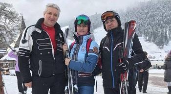 Астраханский губернатор, депутат и спортсменка отдохнули на горнолыжном курорте