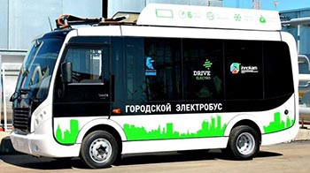 В Астрахани в ноябре протестируют первый электробус