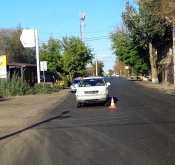 Астраханка на «Лексусе» сбила маленького велосипедиста