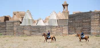 Возле культурно-исторического комплекса «Сарай-Бату» появится палаточный лагерь