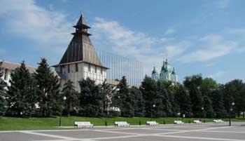 В Астраханском кремле открывается Житная башня
