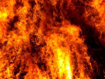 Десять пожаров произошло в Астраханской области за сутки