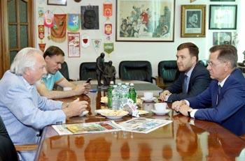 Александр Жилкин пригласил Павла Гусева в Астрахань на рыбалку и не только
