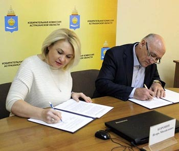 Глава астраханского облизбиркома Игорь Коровин заручился поддержкой «Союза женщин России»
