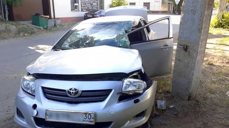 В Астрахани по вине пьяного водителя погиб человек