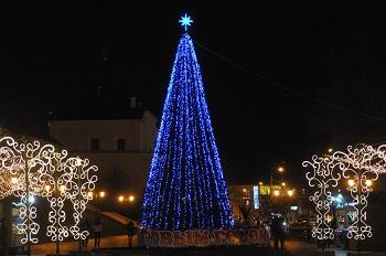 Главную елку города установят у «Атриума»