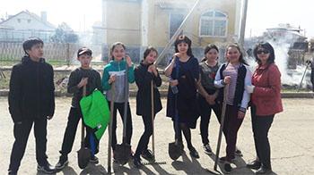 В Приволжском районе активизировались «тимуровцы»