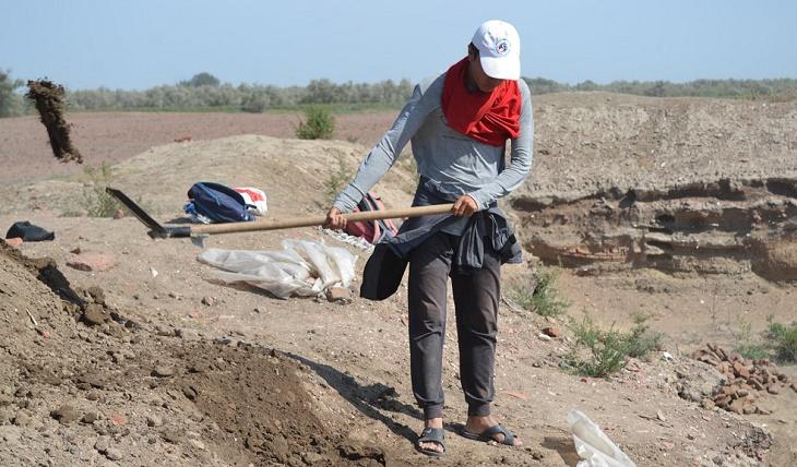 Как идут раскопки Самосдельского городища