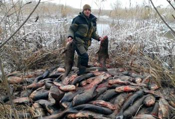 Десятки браконьеров пойманы за неделю в Астраханской области