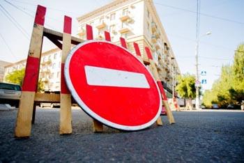 Завтра запретят парковку и автодвижение в центре Астрахани