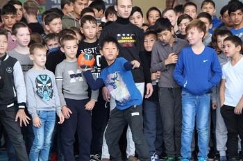 Приволжский район ярко провёл третий этап акции «Забей ЧЕМПИОНУ»