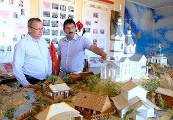 Игорь Мартынов посетил Володарский район