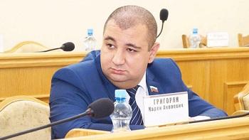 Карен Григорян назначен советником астраханского губернатора