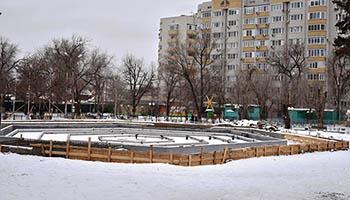 Работы по реконструкции в парке «Аркадия» скоро «разморозят»