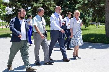 Игорь Бабушкин познакомился с астраханским кремлём