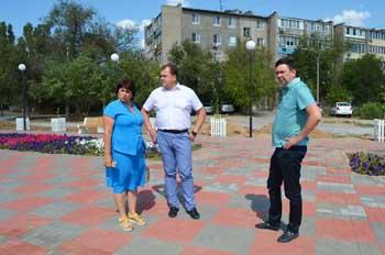 По набережным Ахтубинска прошла волна реноваций