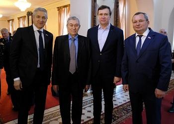 В Астрахани отметили 25-летие областной думы