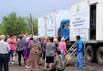 Поезд здоровья прибыл в Ахтубинский район