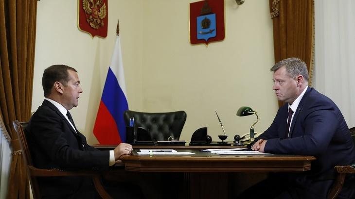 Дмитрий Медведев в Астрахани: прямая речь