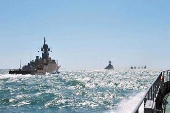 Подняли якоря. Главная база Каспийской флотилии начала перебазирование в Дагестан
