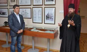 Храму Рождества Пресвятой Богородицы посвятили выставку