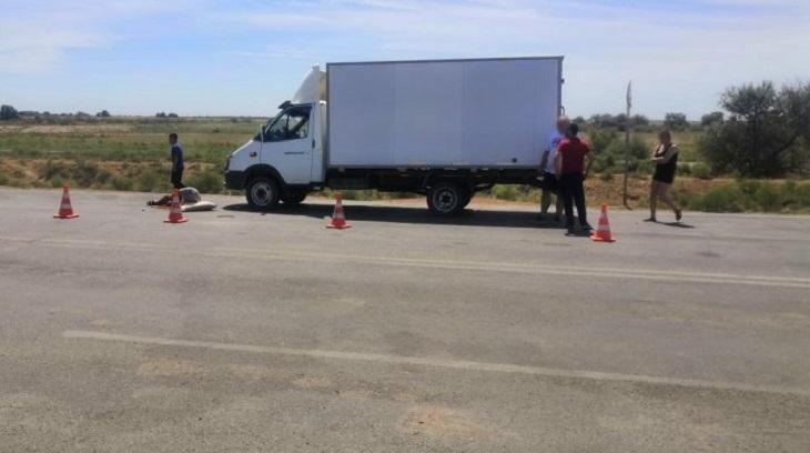 Под Астраханью казахстанец сбил узбекистанца
