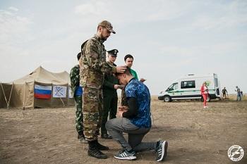 В Астрахани прошли военно-полевые сборы спортивного лагеря «Георгий Победоносец»