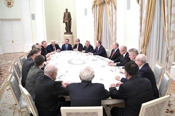 Путин встретился с Жилкиным в Кремле