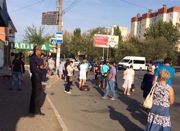 Астраханцы не могли нормально уехать из микрорайона Бабаевского