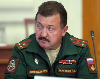 Военный комиссар Астраханской области Геннадий Матвеев уволился