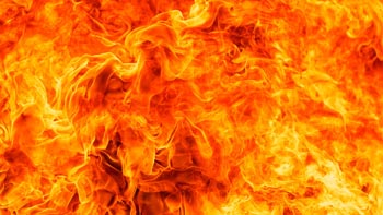 Под Астраханью в пожаре погиб пенсионер