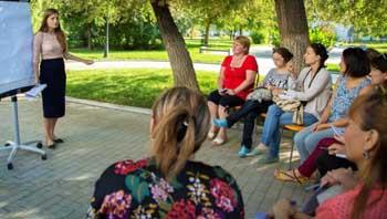 Педагоги и психологи Астрахани осваивают посты, хештеги, индексацию и релевантность