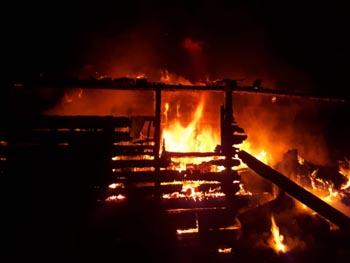 На День Конституции в Астрахани произошло пять пожаров