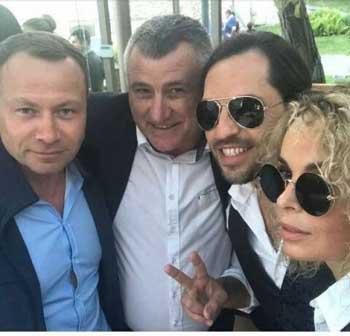 Сергей Боженов отдыхает в Латвии