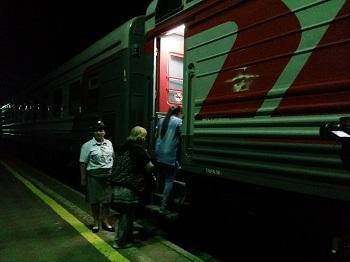 По железной дороге из Астрахани в Минводы