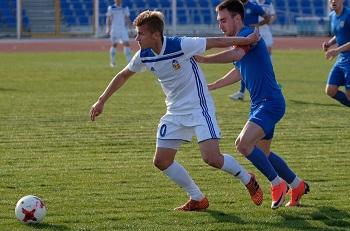 Футболисты «Волгаря» одержали пятую победу подряд