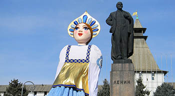 Как в Астрахани отметили масленицу