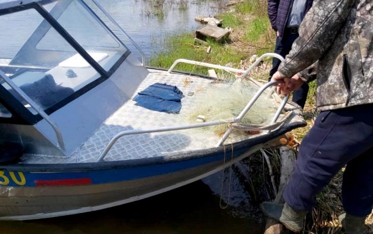 Водный патруль задержал в Астрахани четырёх браконьеров